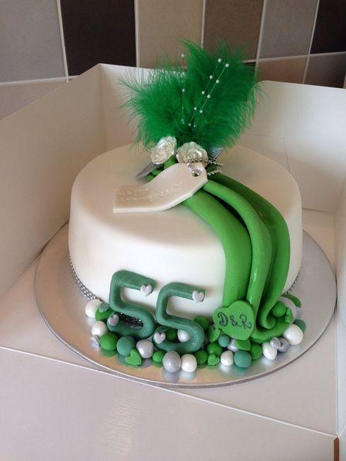 55 Let poroke. Čestitke in darila za smaragdno poroko