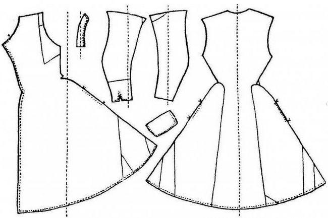 modra obleka boudoirja