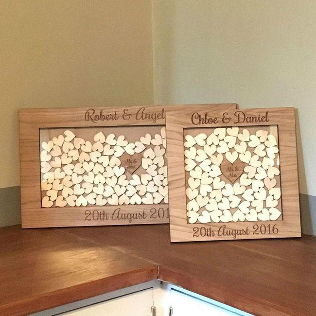 razglednice z leseno poroko