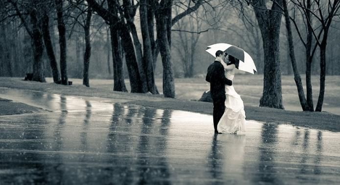 dež na dan poroke