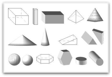 geometrijske oblike