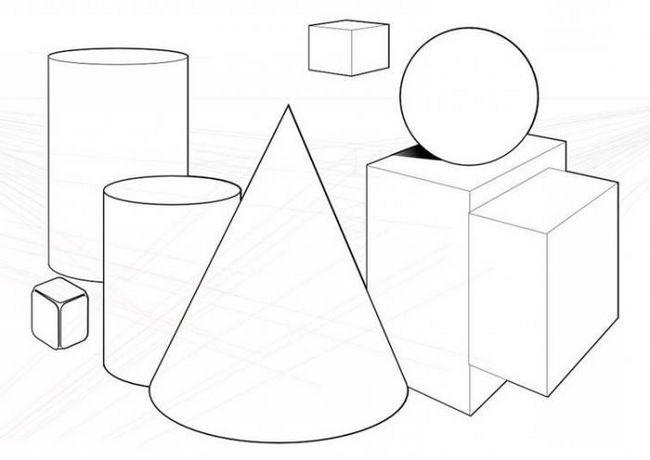 tridimenzionalne geometrijske figure