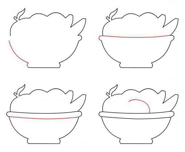 kako pripraviti košarico za sadje
