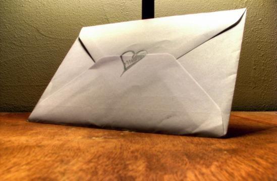 Pismo ljubljeni osebi