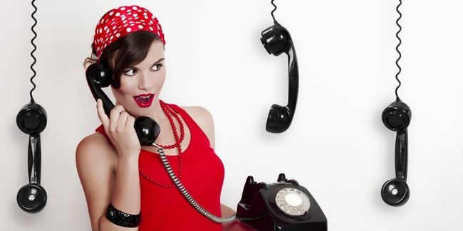 Intimni pogovor po telefonu