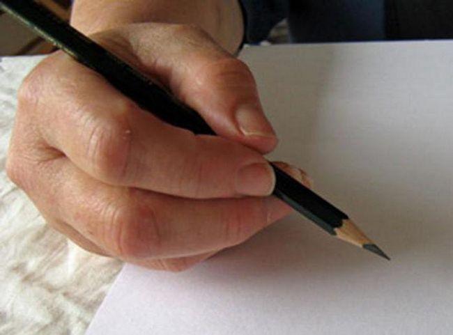 kako narediti pestico v svinčniku korak za korakom