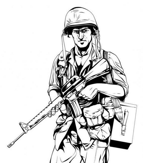 kako pripraviti vojaka s pištolo