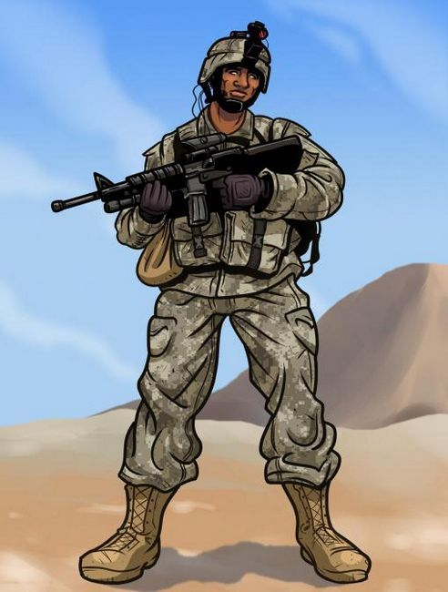 kako pripraviti vojaka korak za korakom