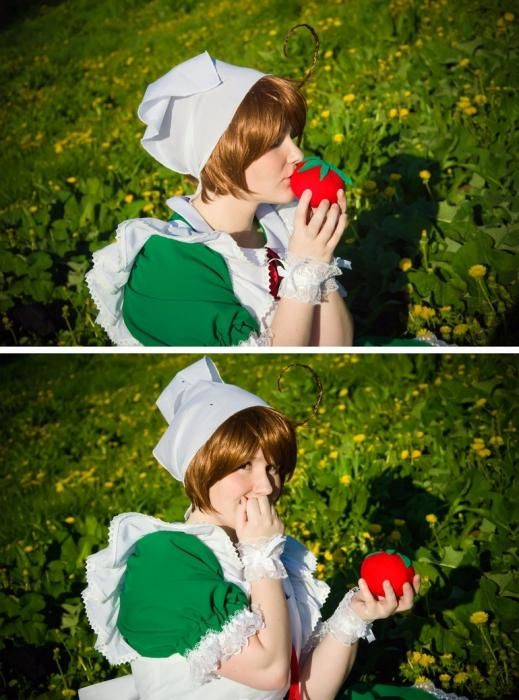 Kako se naučiti poljubljati na paradižniku? Prvi korak do živih oseb