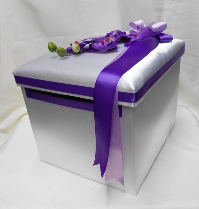 Kako narediti škatlo za denar za poroko s svojimi rokami?