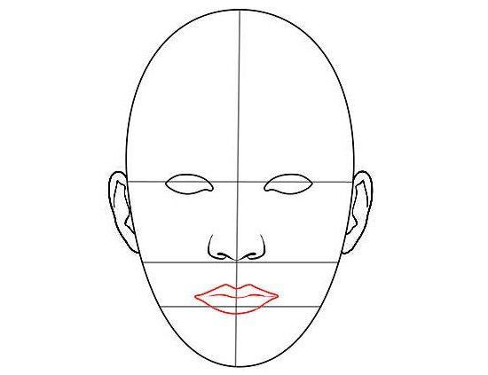 kako narisati obraz osebe v svinčniku