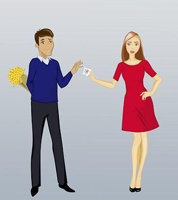 Kako ponuditi srečanje s fantom - naj deklica naredi prvi korak?