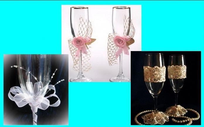 Kako sami izdelujete poročna očala - na več različnih načinov