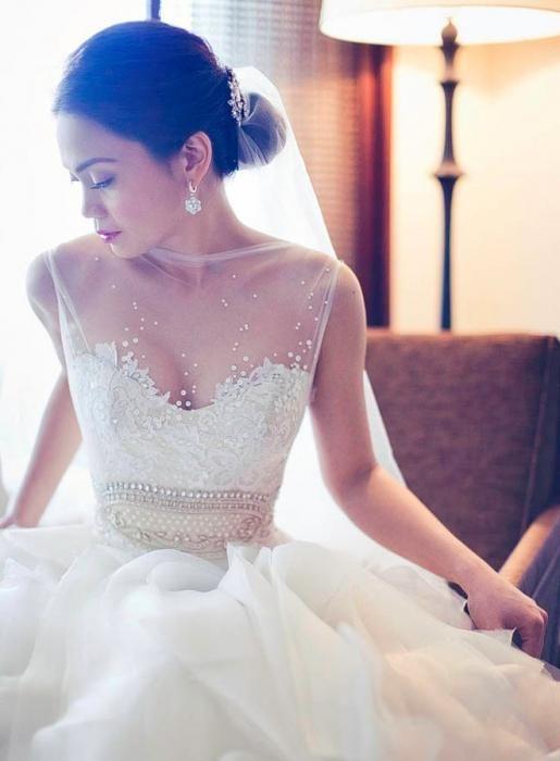 Kako izbrati poročno obleko?