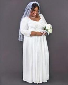 poročna obleka za popolno