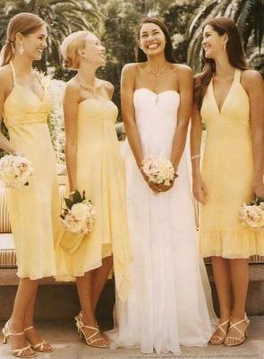 obleko za poročno dekle
