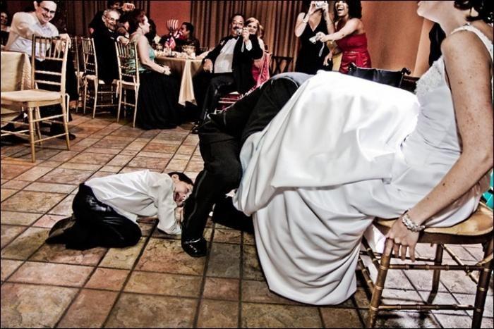 Natečaji smešno pri porokah: natančnejše točke vedenja in skripte