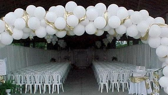 Lepo poročno dekoracijo dvorane z lastnimi rokami