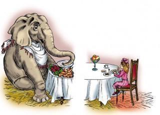 kuprin slon kratka vsebina za bralca dnevnika razreda 3