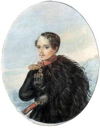 kompozicija lirsko junaško poezijo Lermontova