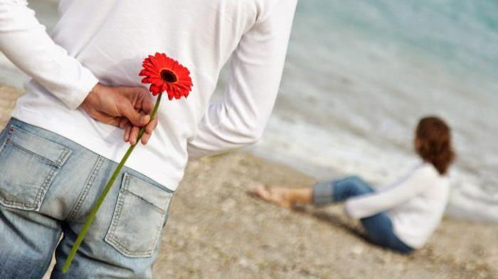 lepa ljubezen med moškim in žensko