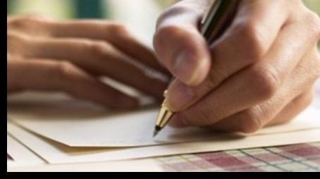 Nekaj nasvetov, ki ga vprašajo po korespondenci
