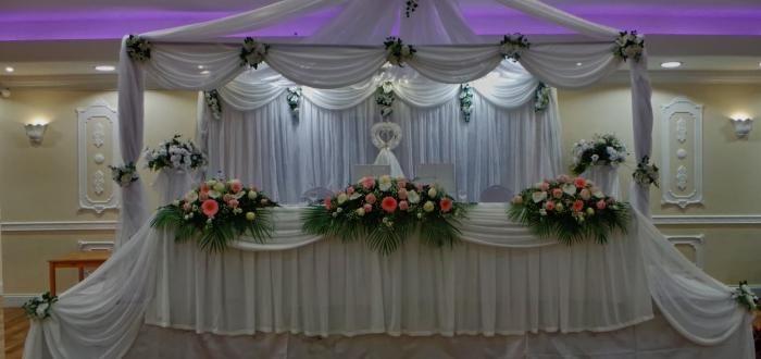 poročna dekoracija fotografija