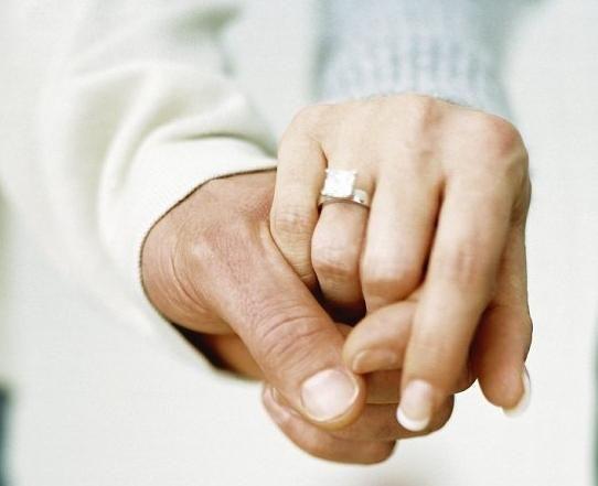 Poročni znaki o prstanih