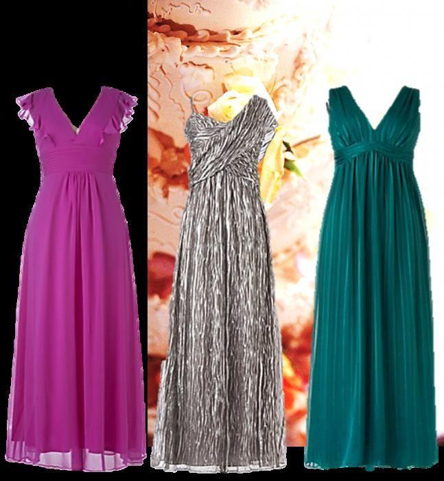 poročna obleka za goste
