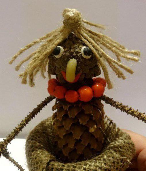 ročno izdelana baba yaga