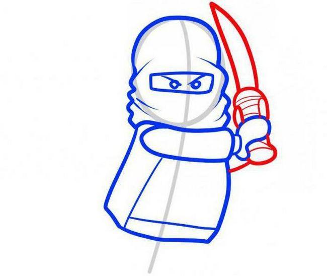 kako pripraviti lego ninja v svinčniku korak za korakom