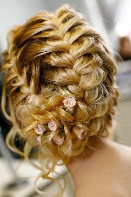 Pričvrstica za srednje lase za poroko. Kaj izbrati