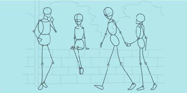 kako pripraviti osebo v korakih s svinčnikom