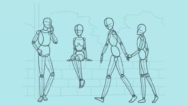 kako pripraviti človeka v oblačilih