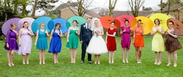 `Rainbow Wedding` - vse barve mavrice za vaš dopust!