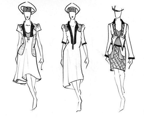 Razmislite, kako pripraviti obleko