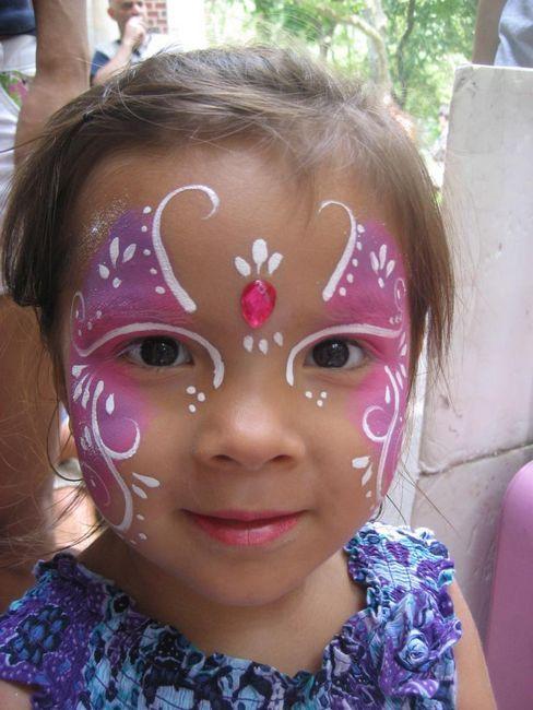 Risbe na obrazu za otroke: ideje, tehnika nanašanja akva-grime