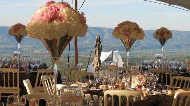 poroka v slogu Provence