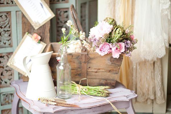 poročno dekoracijo v slogu Provence