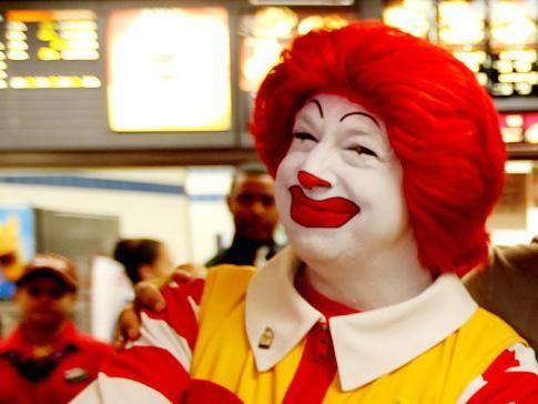 Ronald McDonald fotografija