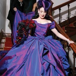 najlepše poročne obleke za slavne