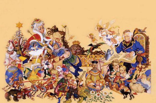 seznam pravljic Hans Christian Andersen