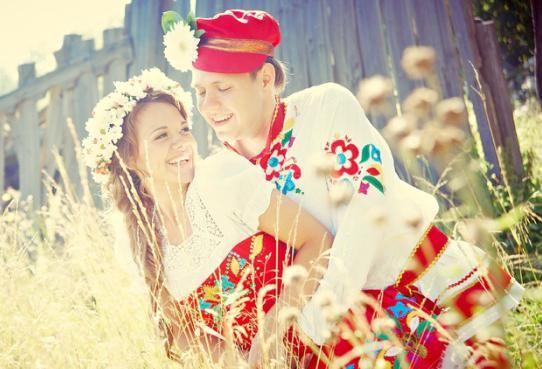poroka v narodnem slogu