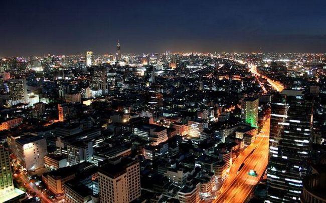 Kapital Tajske Bangkok je prehod v jugovzhodno Azijo