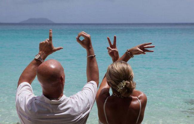 Poroka na otokih: fotografija, organizacija, mnenja