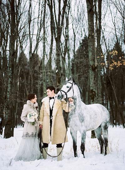 Poroka v ruskem ljudskem slogu