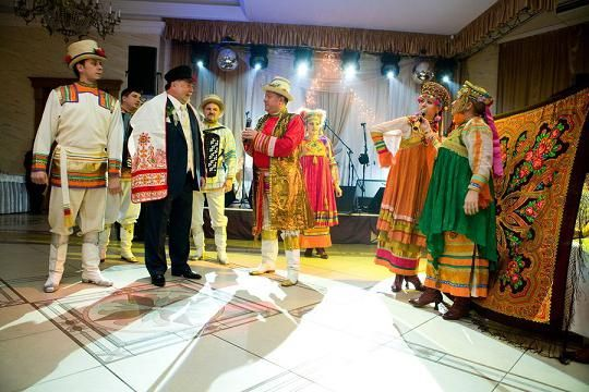 Poroka v ruskem slogu poleti