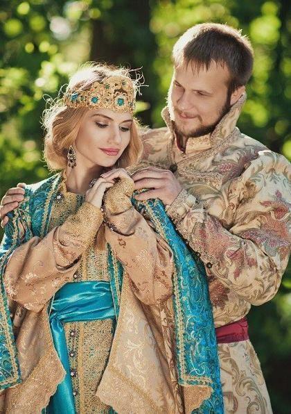 Vabilo na poroko v ruskem slogu