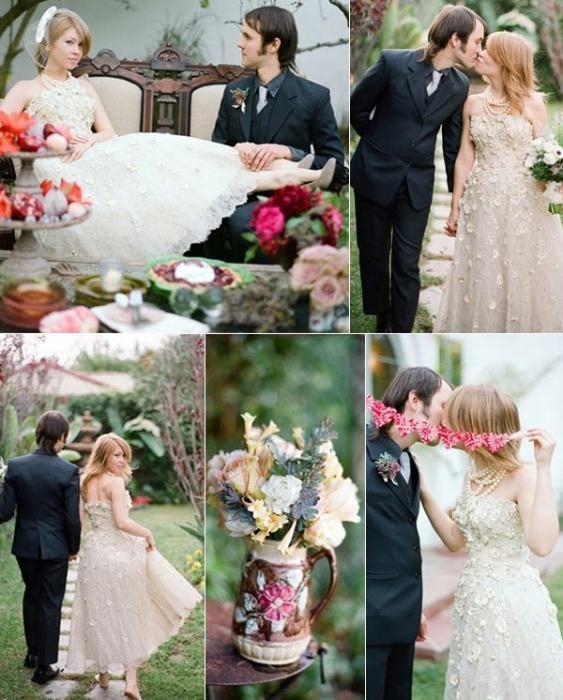 poroka v slogu Alice v čudežni deželi