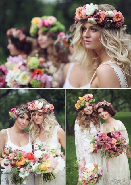 poročne obleke v slogu boho